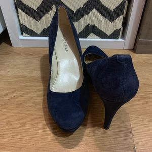 Marc Fisher Shoes - Blue suede heels